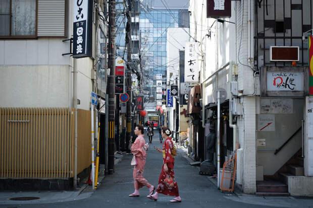 Жизнь Японии в объективе Takashi Yasui