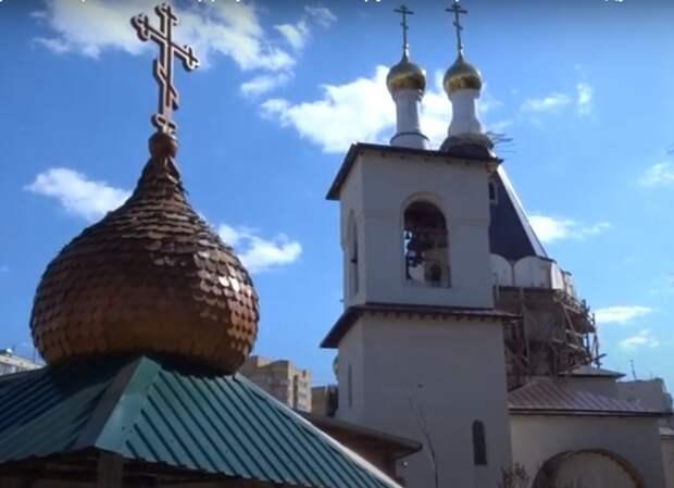 Храм прп. Серафима Саровского на Дубнинской