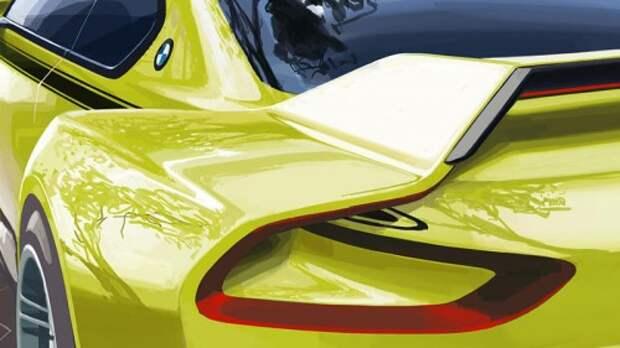 Первый тизер BMW 3.0 CSL Hommage