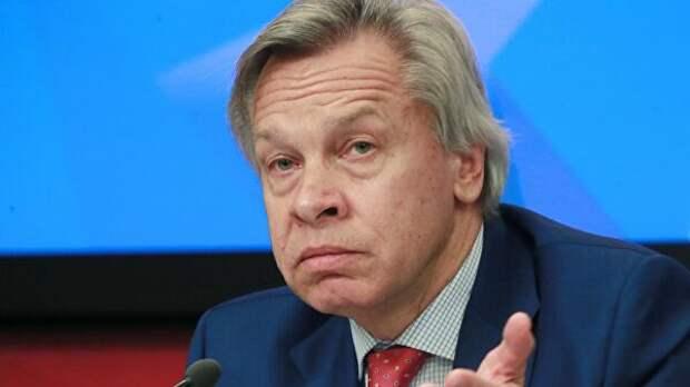 Член Совета Федерации Федерального Собрания России Алексей Пушков