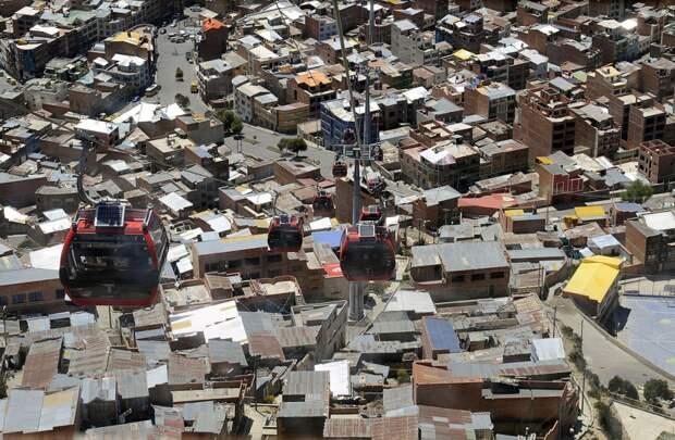 Канатная дорога в Ла-Пасе