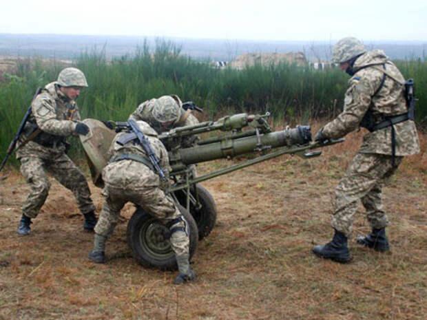 Киевские силовики обстреливают друг друга под Донецком - ДНР