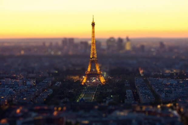 Когда мегаполисы - словно миниатюры: города и эффект tilt-shift