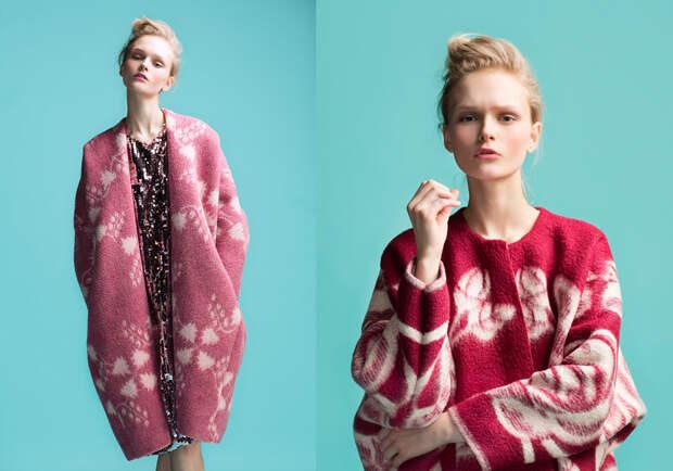 Эстонский дизайнер создает пальто из старых советских одеял