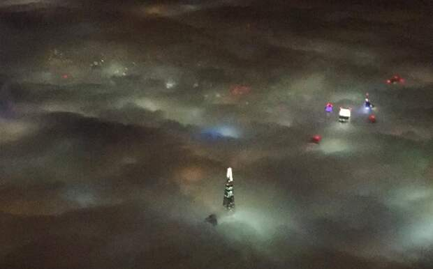 Невероятный туман, что накрыл всю Британию