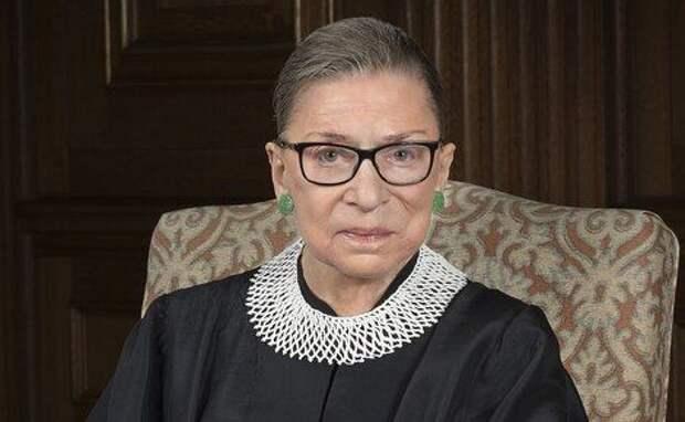 В США в возрасте 87 лет умерла Рут Бейдер Гинзбург — самая старшая из нынешнего состава американского Верховного суда