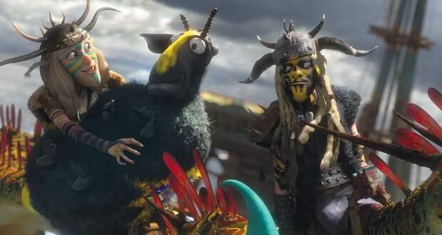 «Как приручить дракона 2»: Искушение святого Иккинга