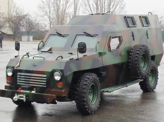 Украинский «Богдан» разработал новый бронеавтомобиль «Барс»