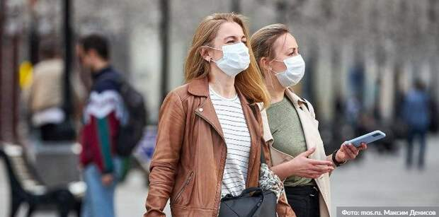 Почти 60 посетителей торговых центров в САО оштрафованы за нарушение масочного режима. Фото: М. Денисов mos.ru