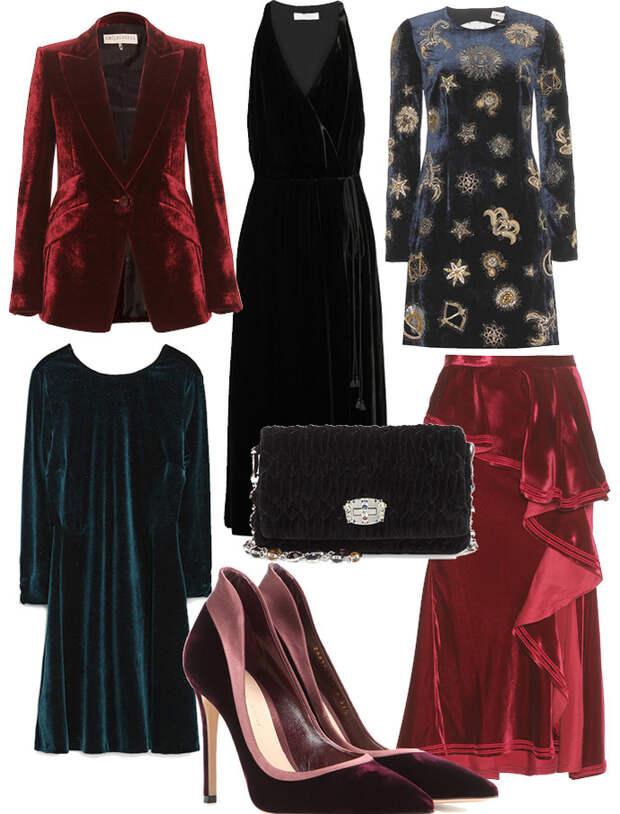Выбор ELLE: платья Zara, Chloe, Emilio Pucci, блейзер Emilio Pucci, юбка Givenchy, клатч Miu Miu, лодочки Gianvito Rossi