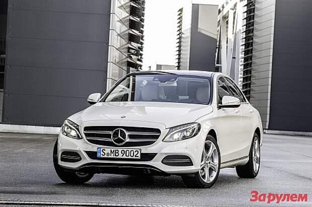 Новый Mercedes-Benz C-класса представили официально