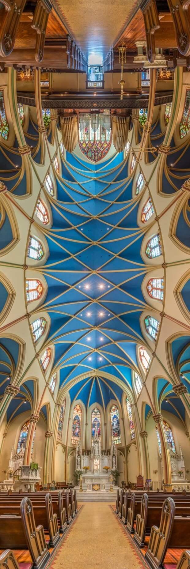 Панорамные фото в нью-йоркских церквях Richard Silver