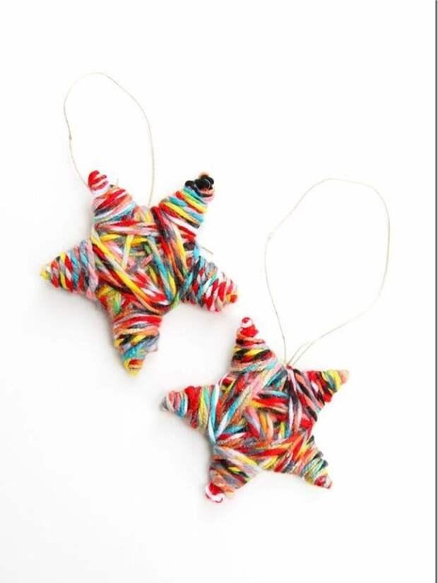 Вязаные ёлочные игрушки (подборка)