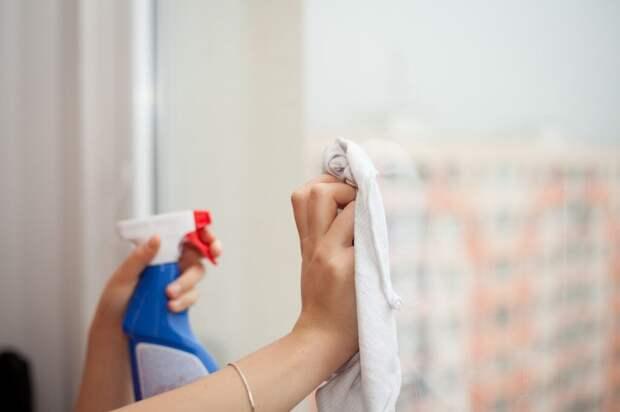 Бытовая химия: правила безопасной уборки