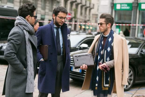 Мужчины и шарфы. Идея подарка мужчине