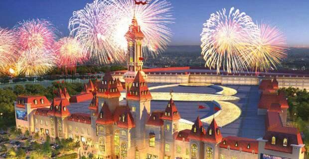 Собянин рассказал о ходе строительства тематического парка «Остров мечты»/Фото: mos.ru
