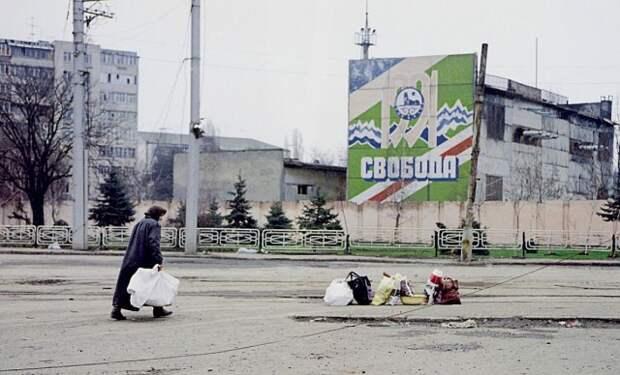 Грозный, 1997 90-е, подборка, фото