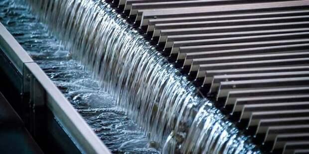 Водные ресурсы Москвы стали расходоваться меньше