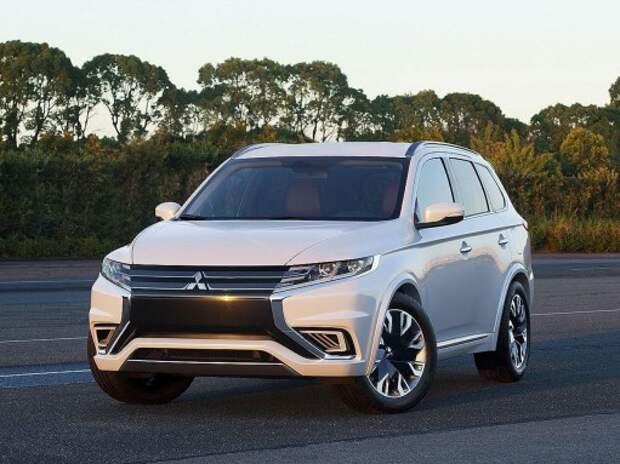 Выпуск нового Mitsubishi Outlander начнется в Калуге в марте