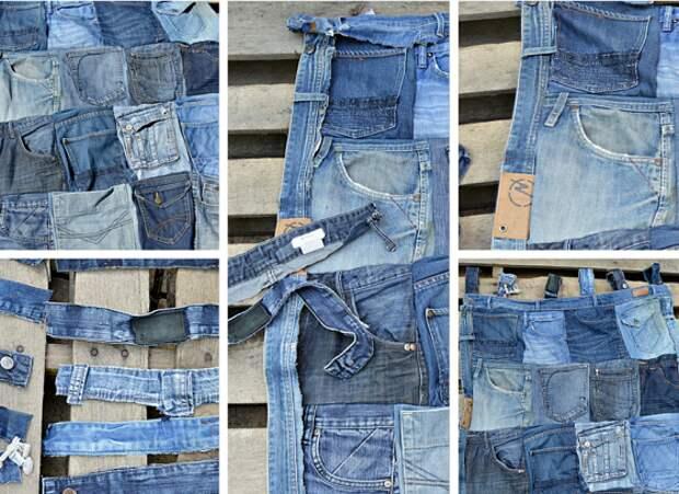 Что сделать из джинсов