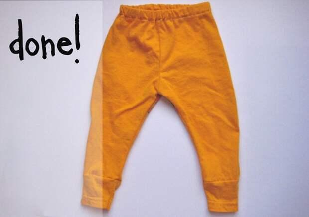 штанишки из футболки 4