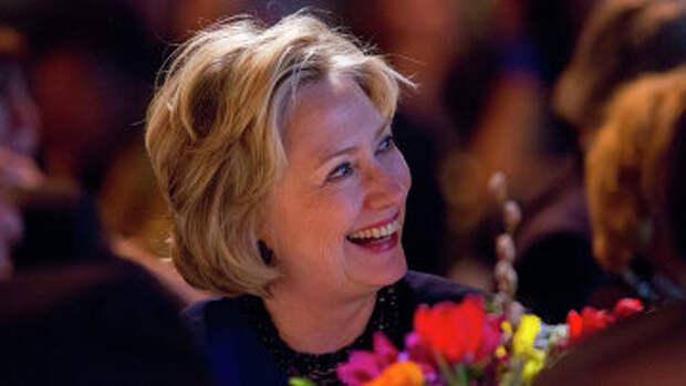 Американский политик Хиллари Клинтон. Нью-Йорк, 2014 год. Архивное фото