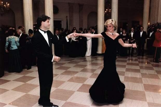Джон Траволта благодарит судьбу за танец с принцессой Дианой