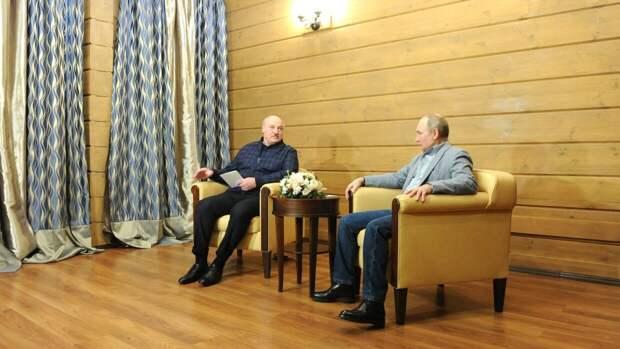 Дмитрий Песков допустил, что переговоры Путина и Лукашенко затянутся до позднего вечера