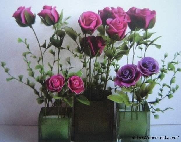 Розы из капрона. Красивые идеи и мастер-класс (43) (460x362, 120Kb)