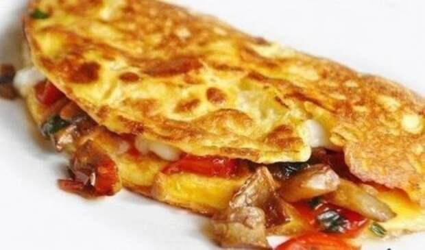 1. Омлет по-мексикански еда, яйца