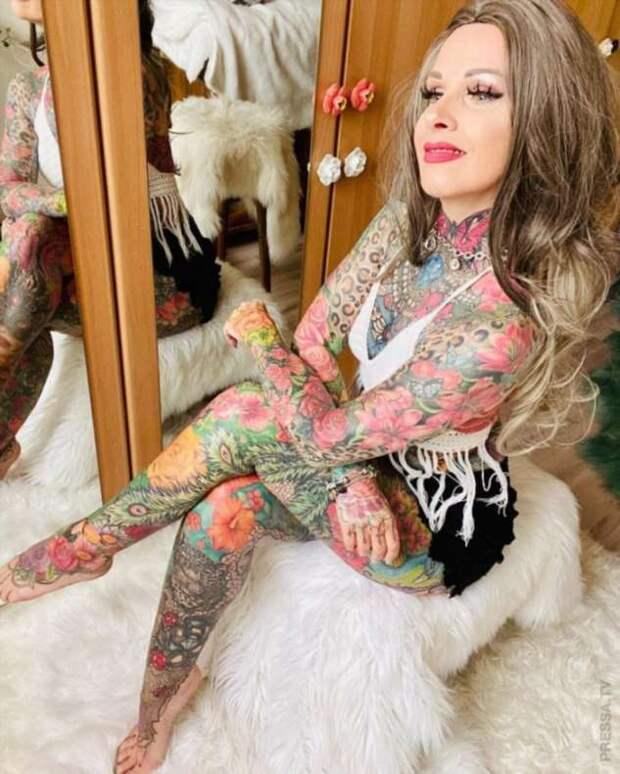 30 тысяч евро на татуировку всего тела