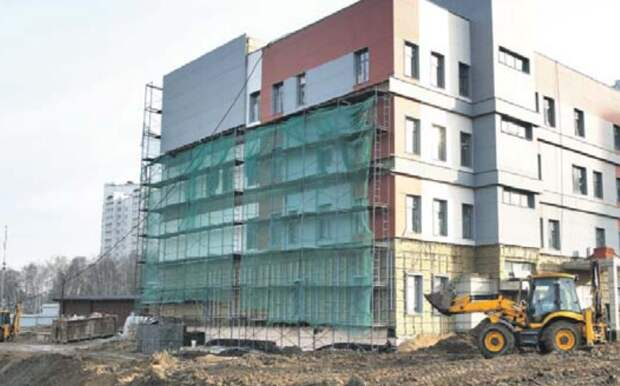 Центр соцобслуживания в Северном планируют достроить в 2020 году Фото: Роман Балаев