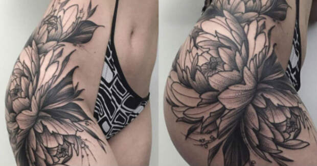 Примеры потрясающих татуировок дляног