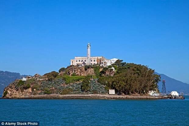 Форт Алькатрас, Сан-Франциско, США.