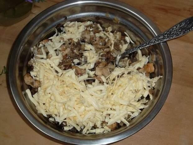 перцы, фаршированные курятиной и грибами