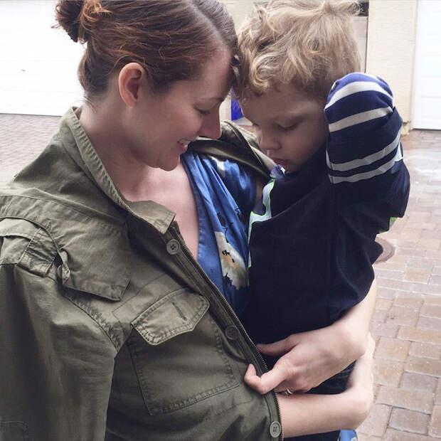 Summer Bellessa и ее з-летний сын