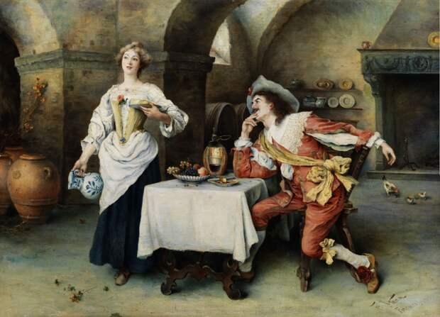 Итальянский колорит в картинах Франческо Винеа