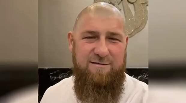 Кадыров побрился наголо