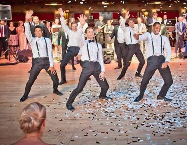 Свадьба танцоров балета стала интернет-хитом