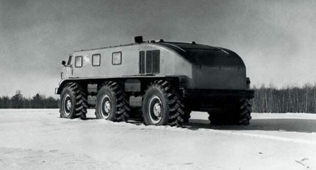 ЗиЛ-Э167 – снегоход повышенной проходимости авто, автомобили, интересное, прототип