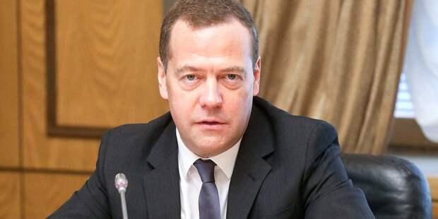 Медведев заявил о необходимости увеличения товарооборота с Финляндией