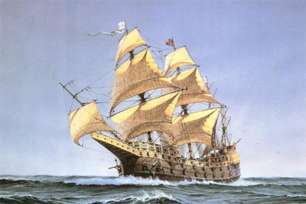 Летучий Голландец: история реального корабля-призрака
