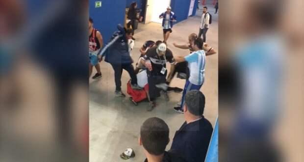 Аргентина требует от России депортировать болельщиков за страшное избиение (ВИДЕО)