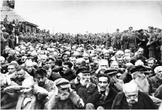 """""""Акция"""" против евреев в Житомире, 1941г."""