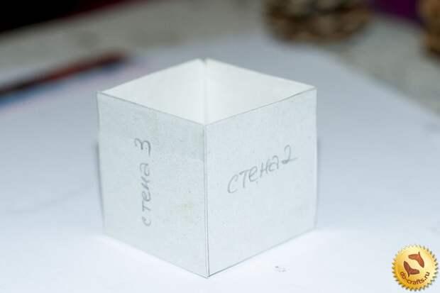 Домик из шишек 3