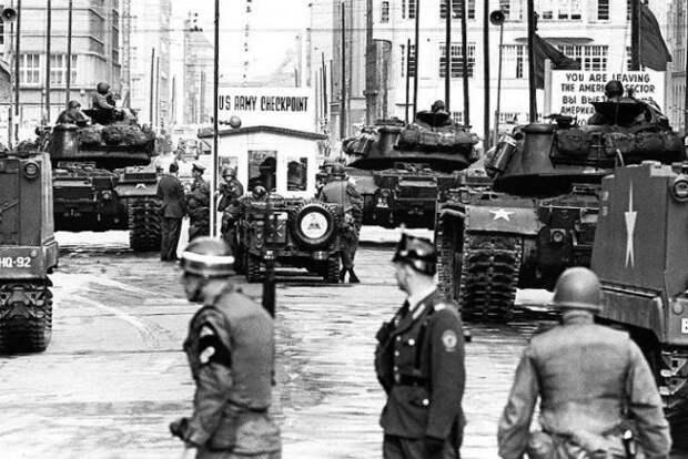 Танковое стояние в Берлине: как США едва не начали Третью мировую