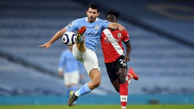 «Манчестер Сити» обыграл «Саутгемптон». Де Брейне и Марез оформили по дублю