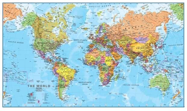 worldmaps02 Карты мира—как они выглядят в разных странах