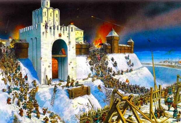 Взятие Киева. Война Руси Языческой с Русью Христианской