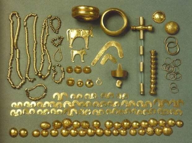 6500-летнее Варненское золото. Наиболее известные их артефактов. /Фото:most-interestingthings.com